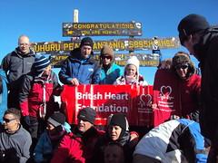 BHF Climb Kilimanjaro Trek 2010