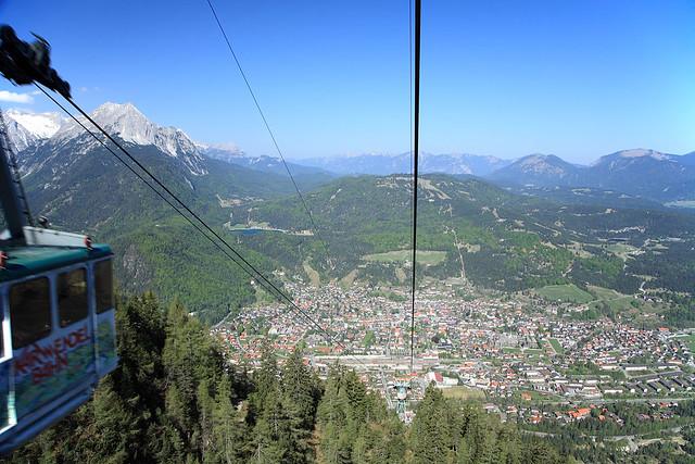 Karwendelbahn, up