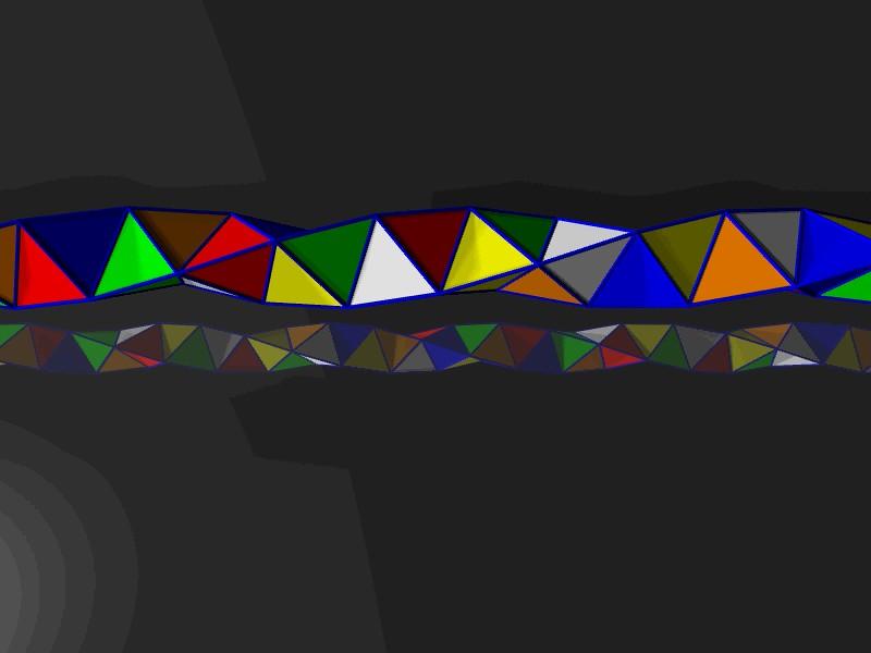 Boerdijk-Coxeter helix animation