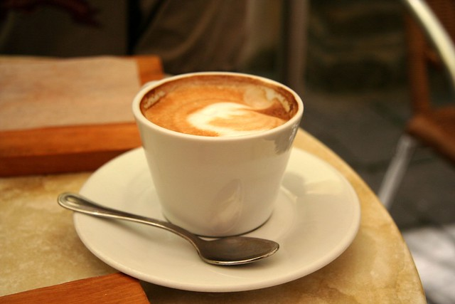 Cappuccino in Corniglia from Flickr via Wylio