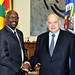 Secretary General Meets with Grenada's Foreign Minister