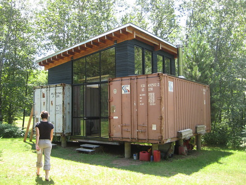 sustainable shipping container homes