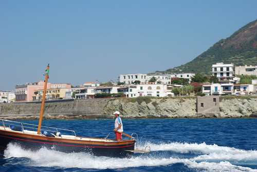 Ischia from the ferry boat #8