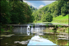 nature reserve, stream, valley, river, bank, loch, body of water, watercourse, reflection, wilderness, pond,