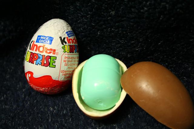 kinder surprise eggs