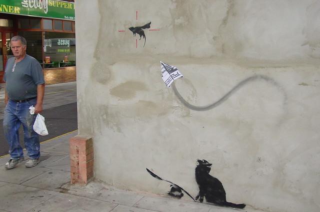 Banksy - Ratapult