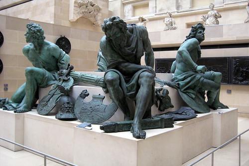 Paris - Musée du Louvre - Captifs