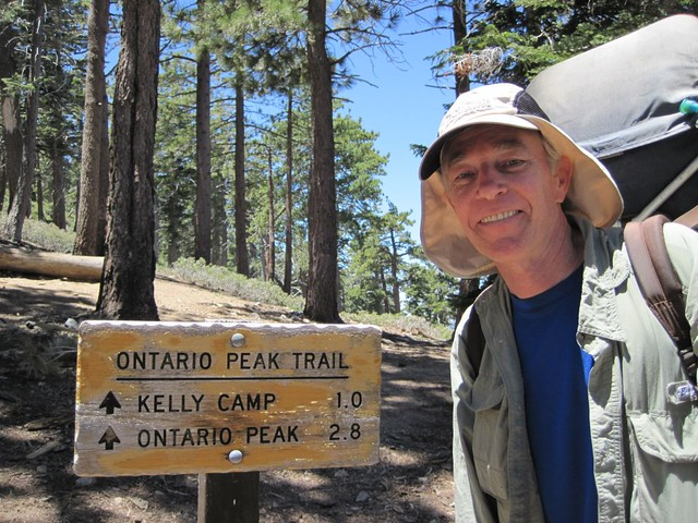 Heading on to Kelly Camp, only a mile to go, and an easy hike