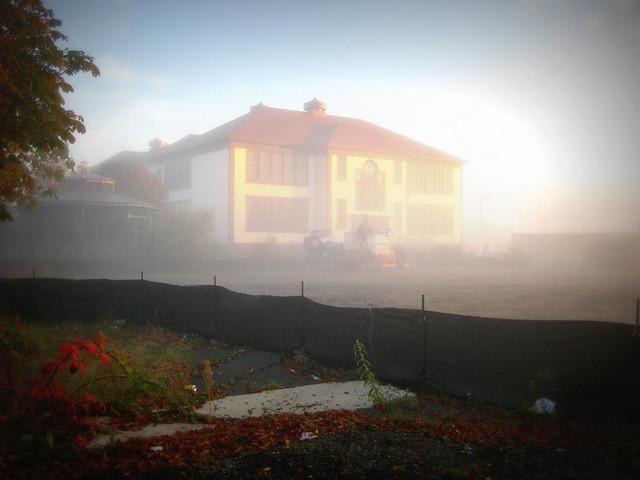 El Centro in Fog