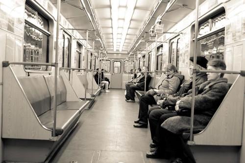 Metro w Mińsku. autor:  Aleksandr Ch źródło: .flickr.com