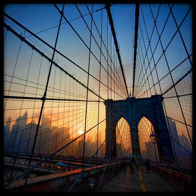 Brooklyn Bridge Sunset [159/365] | Flickr - Photo Sharing!