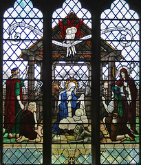 Stained Glass Nativity, Waltham Abbey