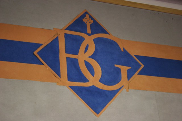 Bishop Gorman Logo in Cafeteria.jpg | Flickr - Photo Sharing!