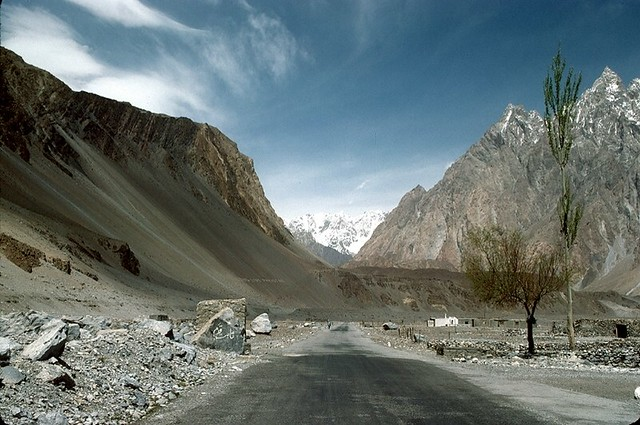 The Karakoram Highway, Pakistan