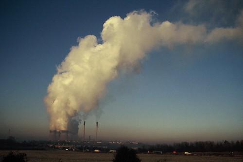 英國約克郡Drax廠,為歐洲最大燃煤電場之一。Ian Thorpe攝。