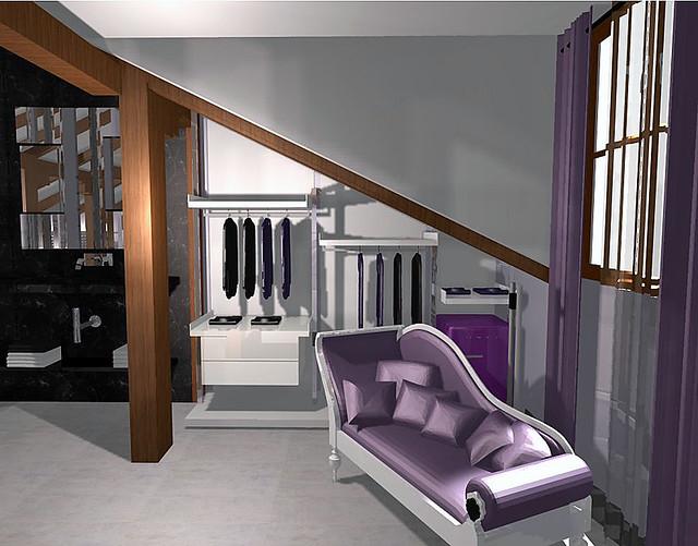 Cuarto Baño Vestidor:Habitaciones Con Vestidor Y Bano