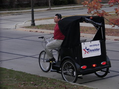 Riding to the Polls