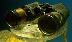 binoculars, yellow, macro photography,
