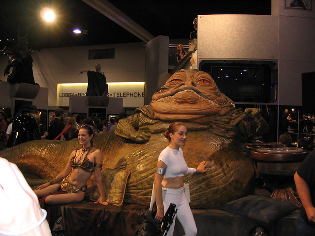 Jabba the Hutt with Princess Leia and Padme Naberrie ... Jabba The Hutt And Leia