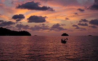An evening in Pangkor