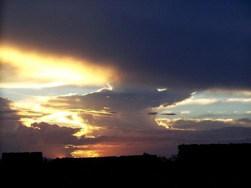 sky fire sunsets burningsky couds