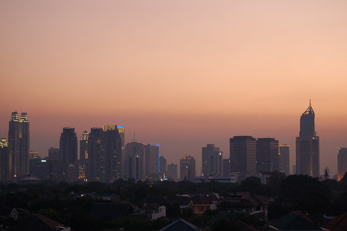 pollution skyline