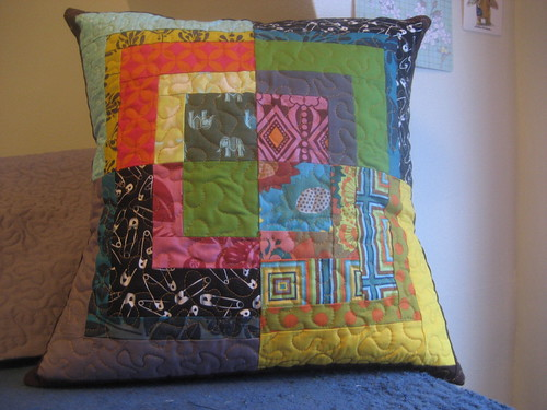 Mod Bento Block Pillow #2