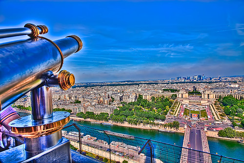 paris eiffeltowerview