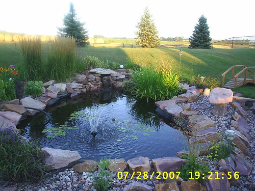 Preformed garden pond ideas photograph preformed pond kits for Preformed pond