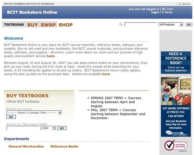 Bookstore Store - New Version