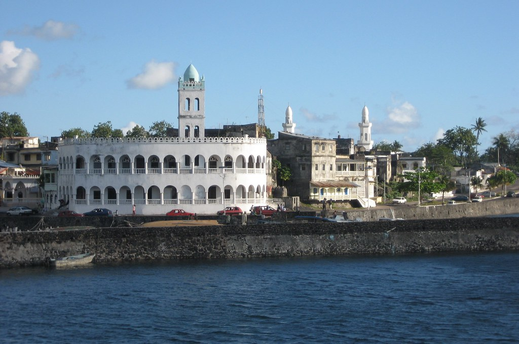 By the port: Friday mosque (Moroni, Comoros)