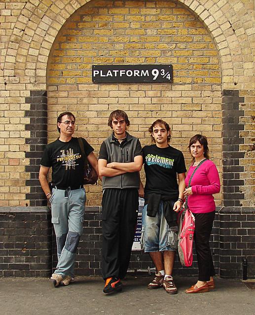 Nos vamos a Hogwarts/Let's go to Hogwarts