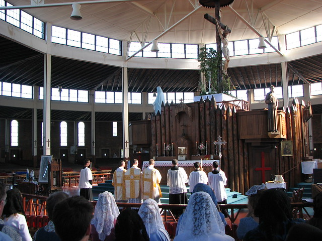 Pilgrimage For Restoration 319 Holy Mass In The Ancient