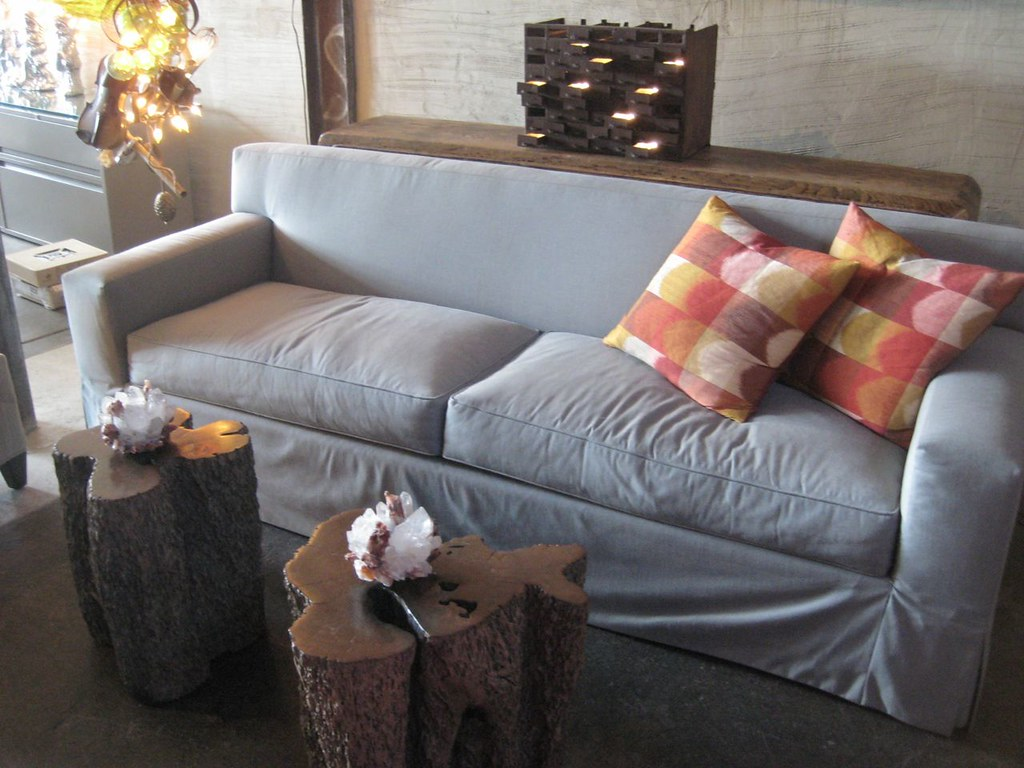 Lovely Luther Sofa And Malaysian Stumps
