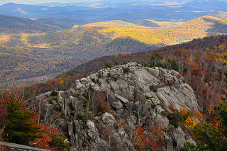 Fall in Shenandoah, NP - Old Rag Mountain