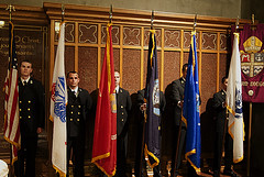 Veteran's Day Evensong Color Guard