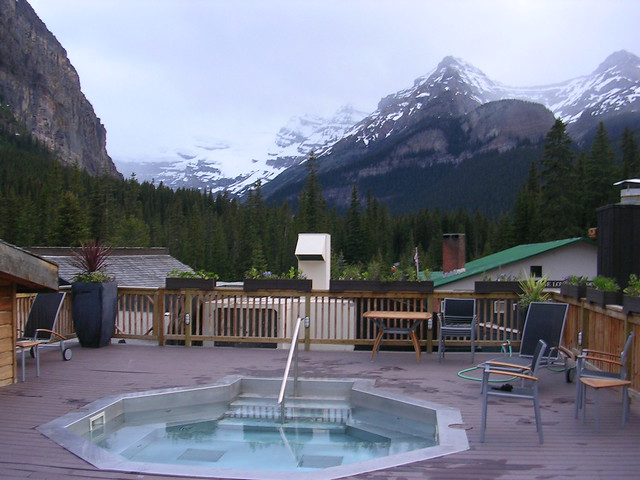 deer lodge at lake louise flickr photo sharing. Black Bedroom Furniture Sets. Home Design Ideas