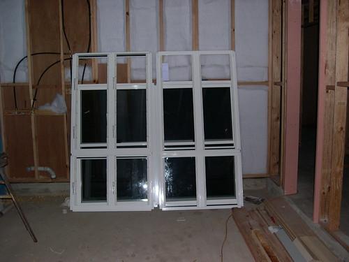 Ground Floor Window : New ground floor windows have been delivered renovate