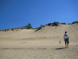 me atop dune