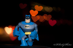 The Batman is always running away from Love by PBodyPhotos