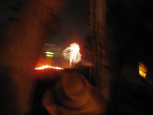 Fireworks at Chucks Memorial