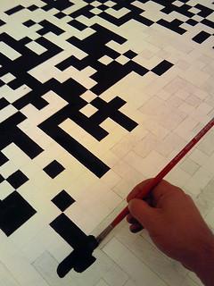 Painting QR code