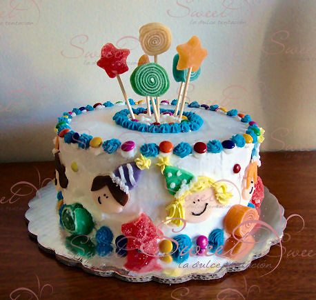 pasteles para bebés jefe