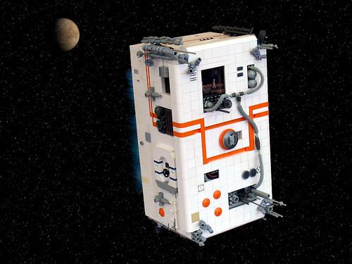 The Amazing Spacebrick!