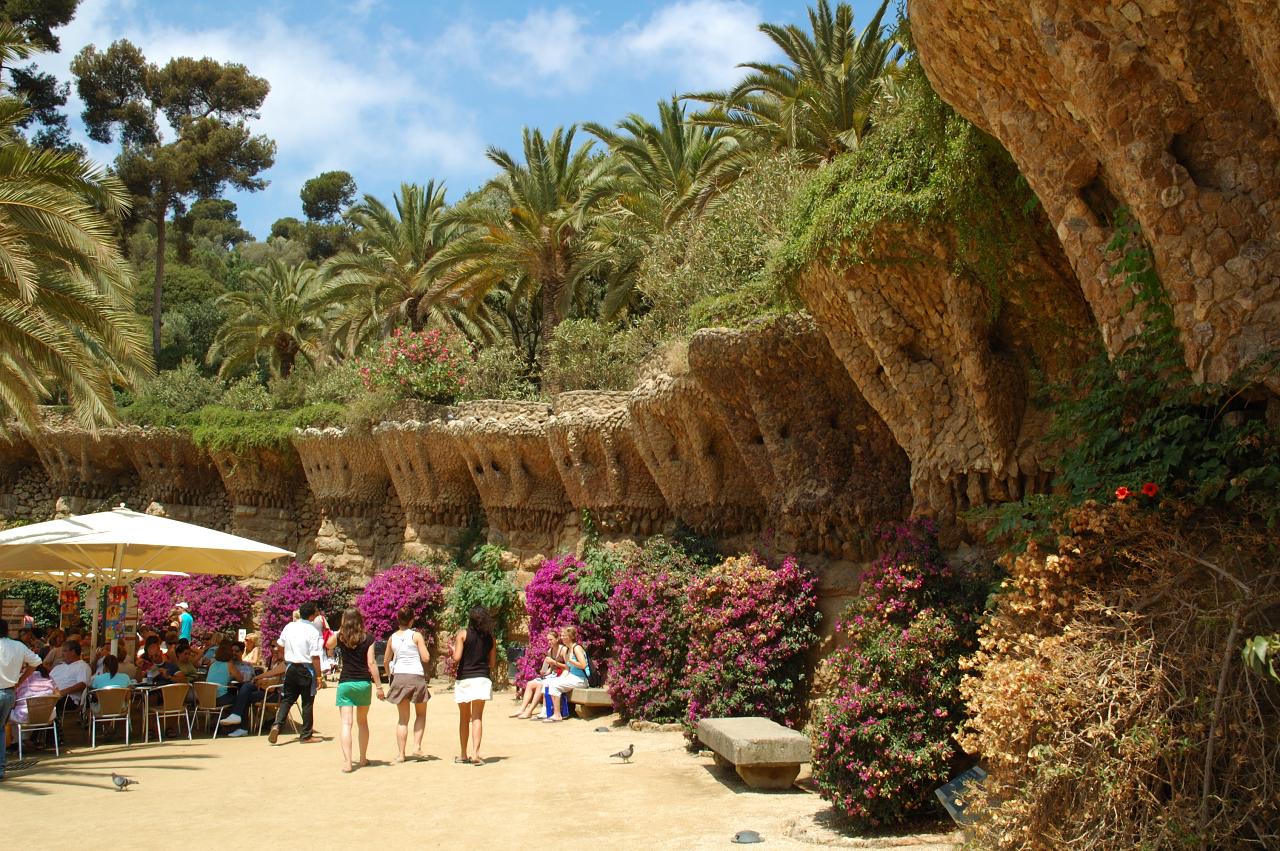 Barcelona photoblog park guell gardens for Barcelona jardin gaudi