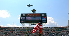 Fly Over Jacksonville Jaguars Stadium