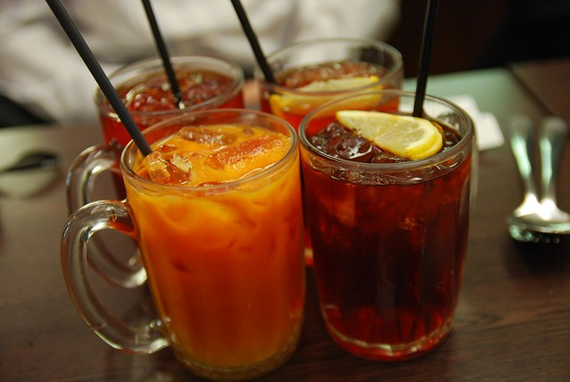Ice Milk and Lemon Teas - Chilli Cafe