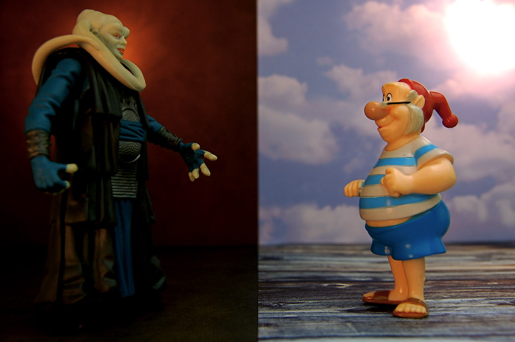 Bib Fortuna vs. Smee (294/365)