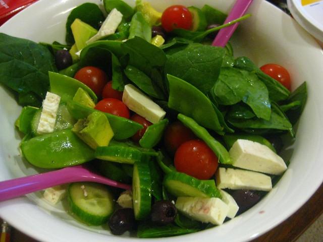 Snowpea salad