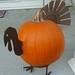Welded Pumpkin Turkey